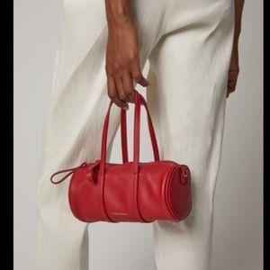 Mansur Gavriel midi red duffel purse